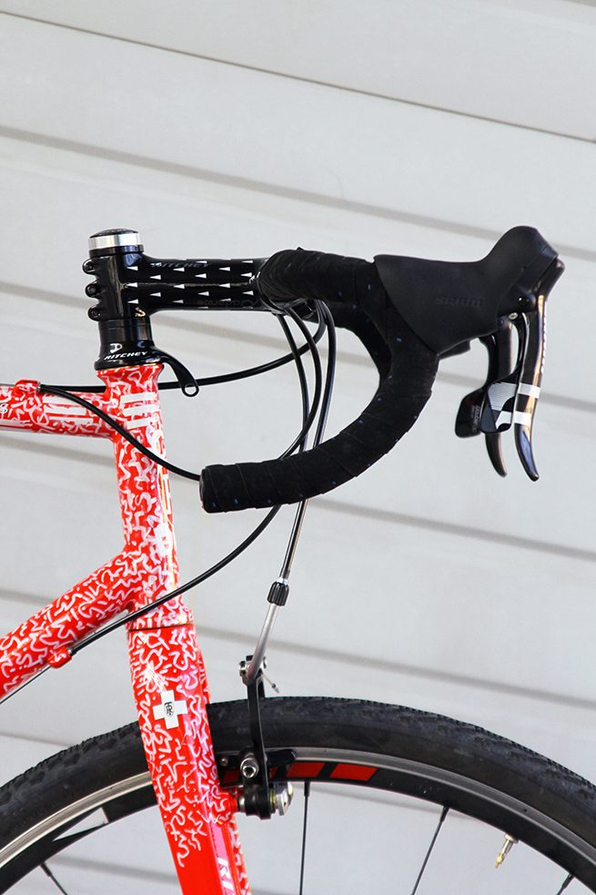 ritchey stem mounted side view