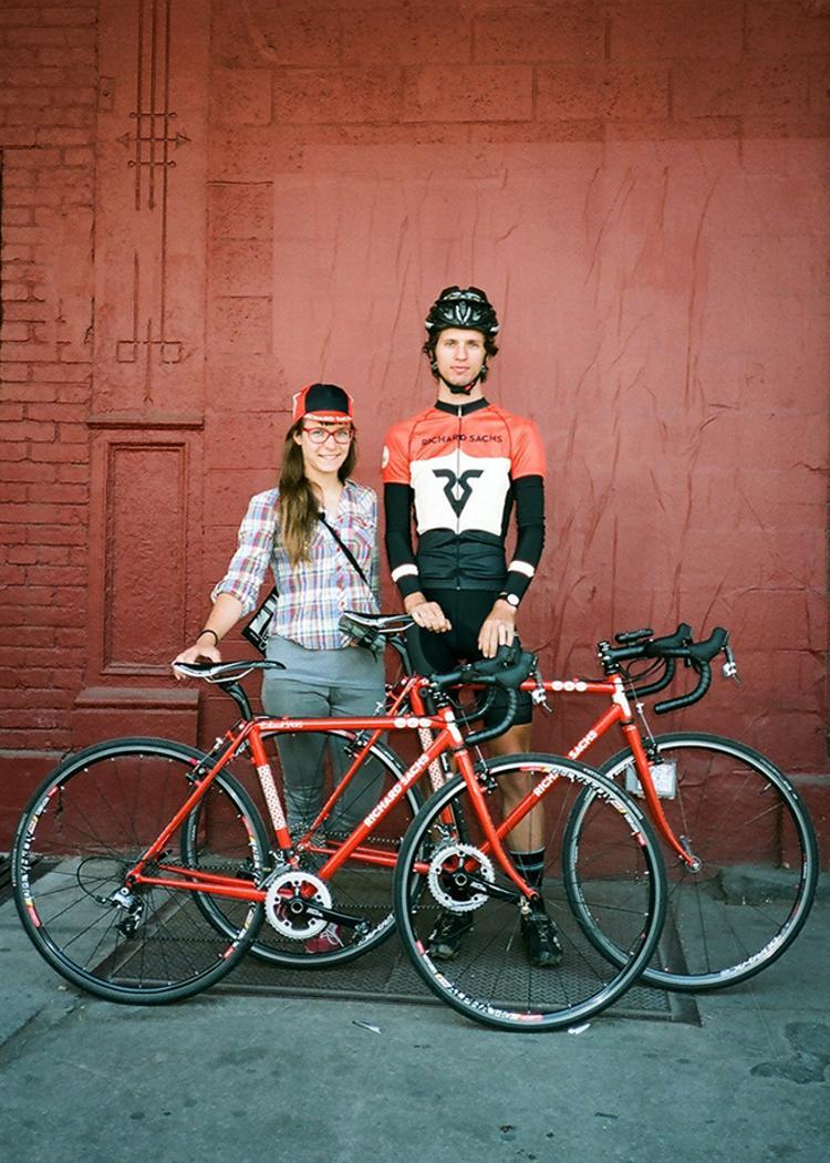 Rapha Survey NYC: Dan and Brit