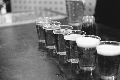 Beer flowed.
