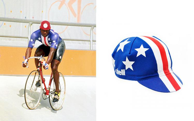 Cinelli: Nelson Vails 1984 Los Angeles Olympics Cap