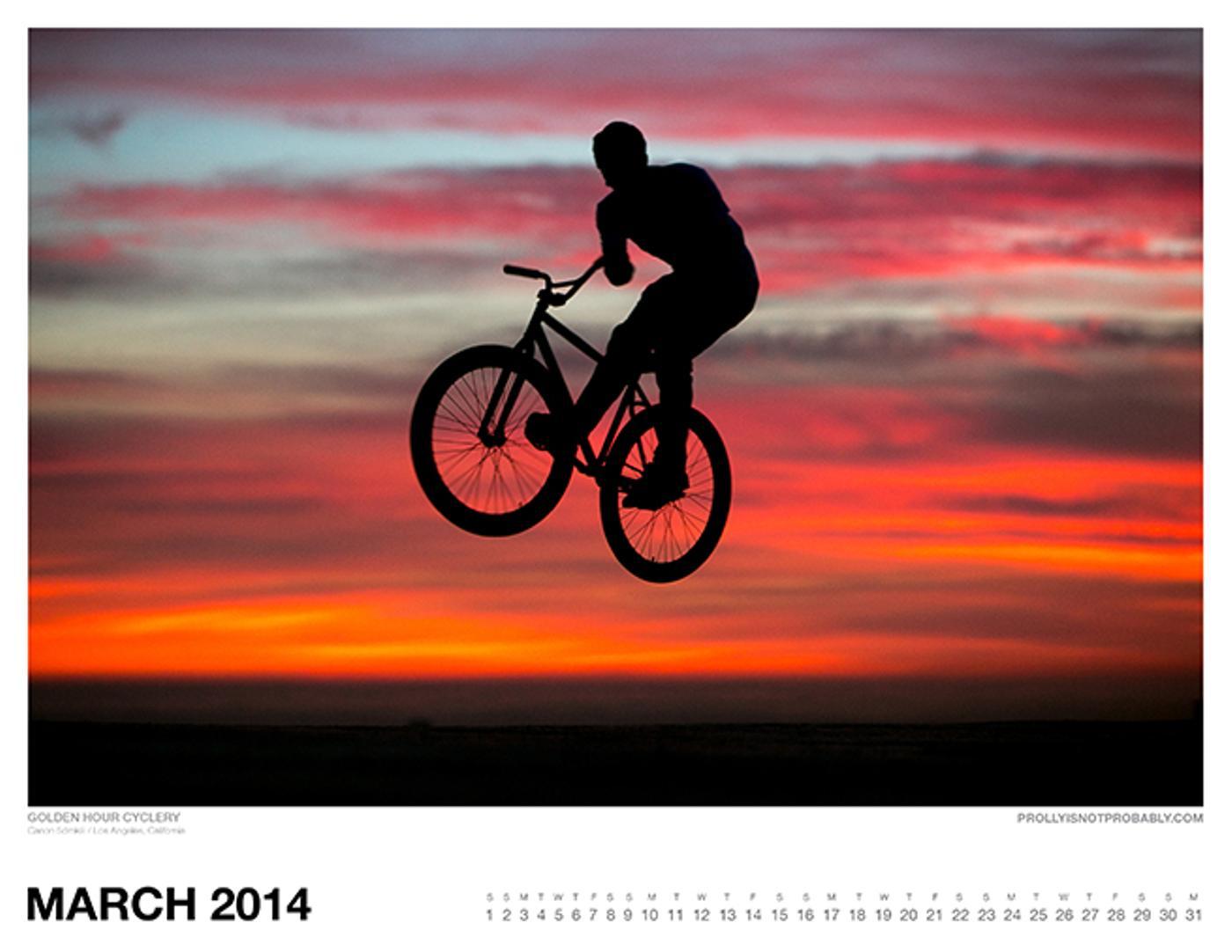 The 2014 PiNP Calendar: March