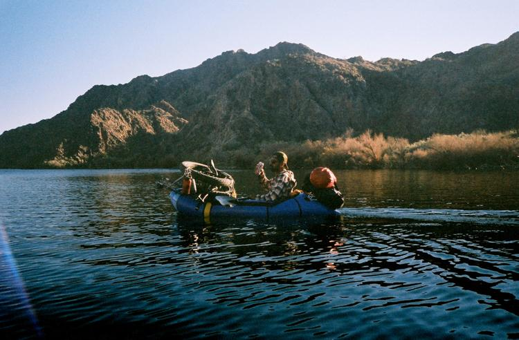 Ty Hathaway's Bike Pack Rafting in Arizona