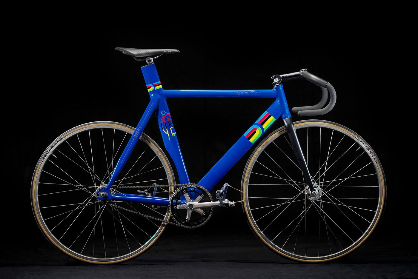 Affinity Cycles: Kissena World Champions Frameset and Jersey