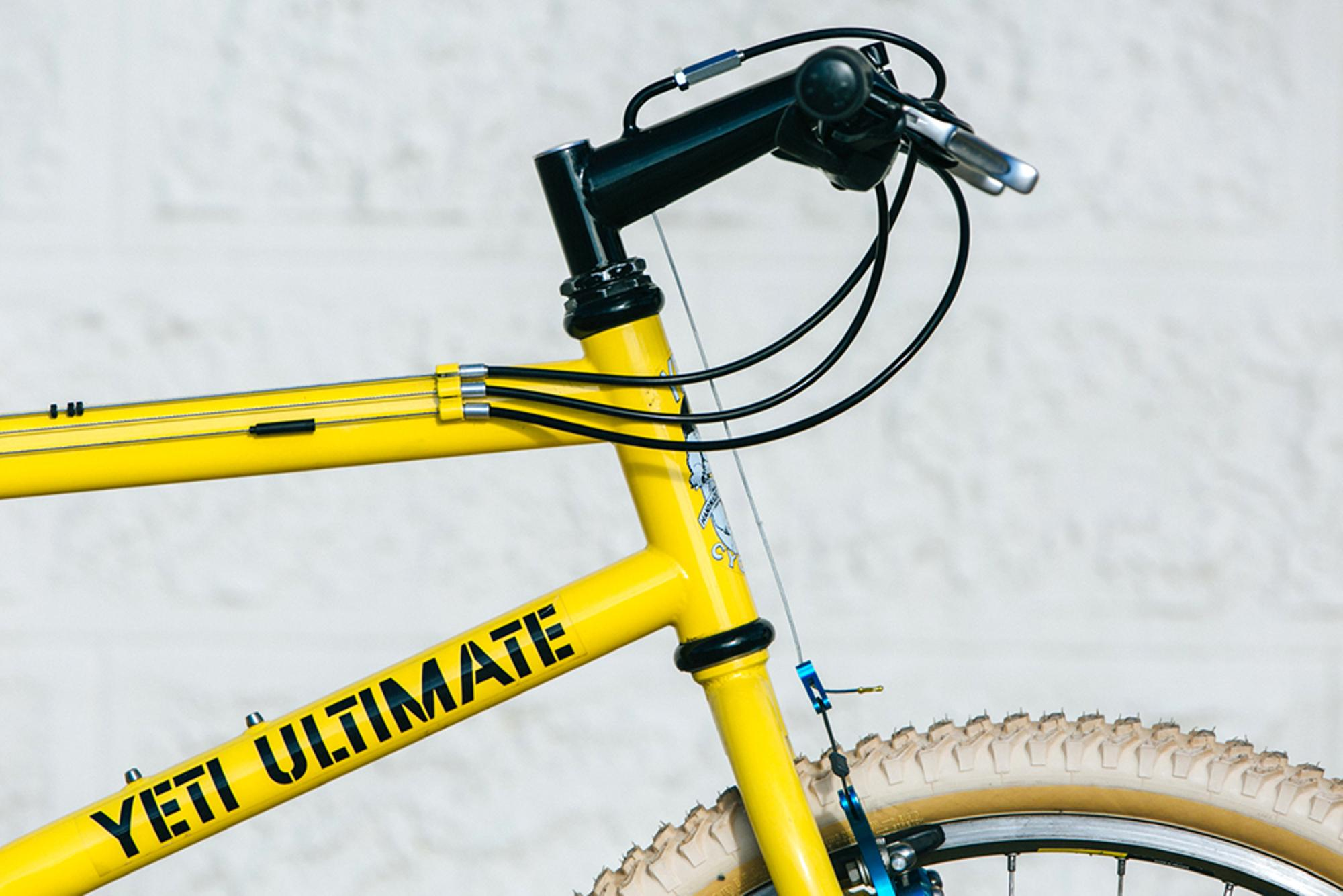 Beautiful Bicycle: Vintage Yeti Ultimate MTB