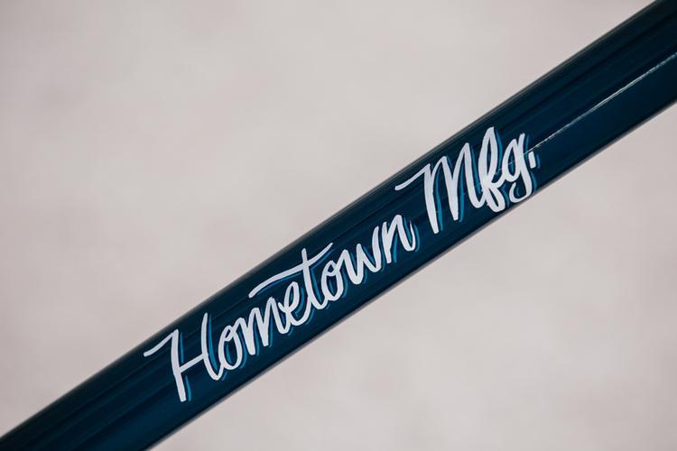 2014 NAHBS: Hometown Manufacturing Hardtail 29r MTB