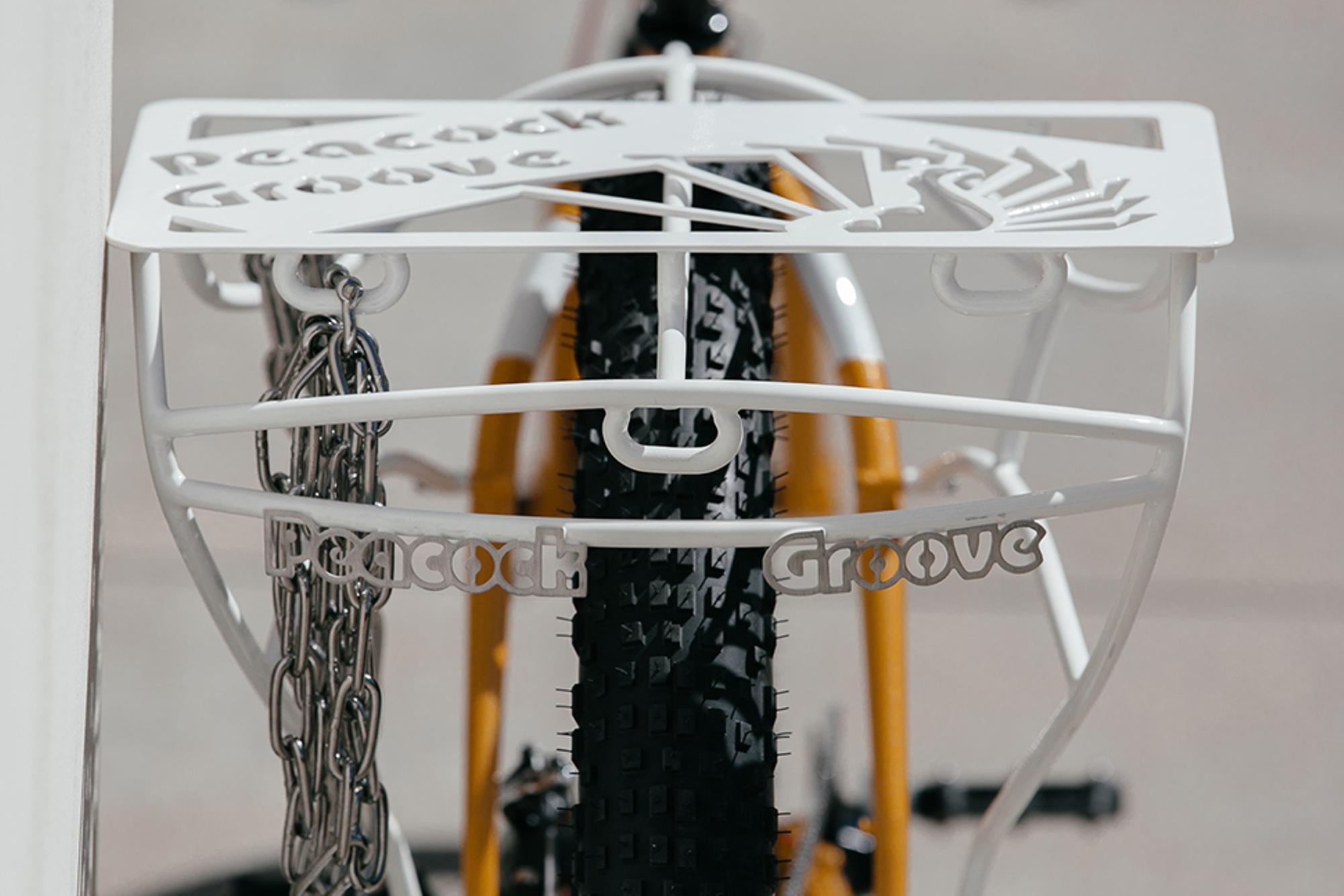 2014 NAHBS: Peacock Groove's Minneapolis Moline  Cargo Bike