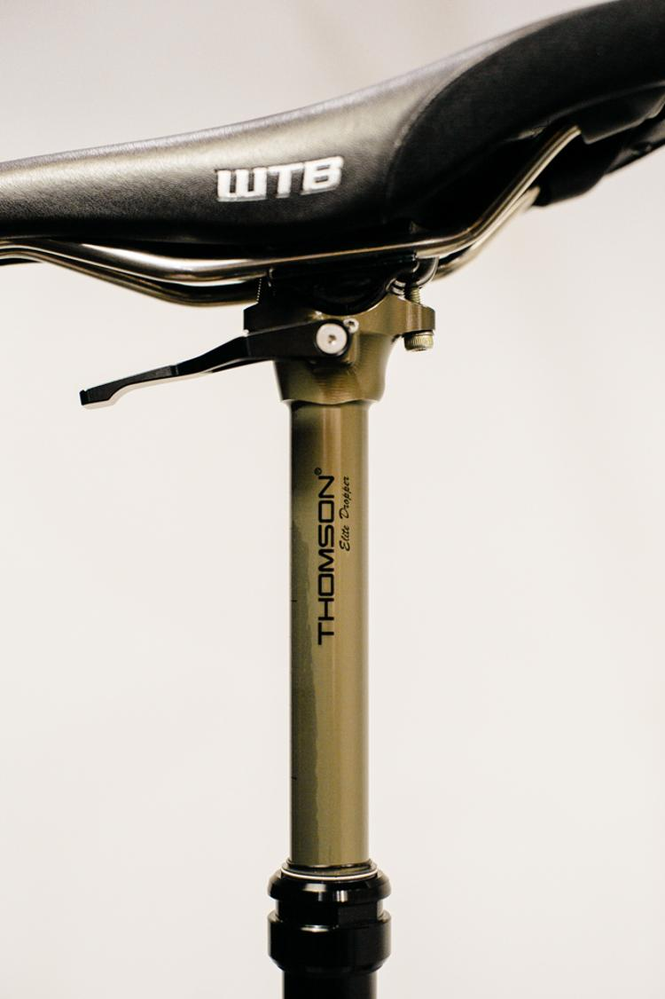 2014 NAHBS: Thomson Elite Dropper Post in 27.2