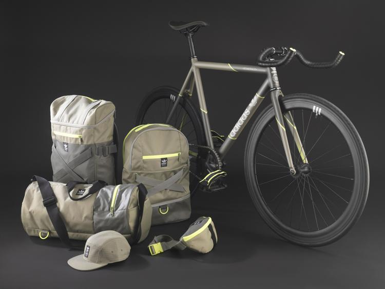 Bombtrack for Adidas: Street Crew Bags and Track Bike