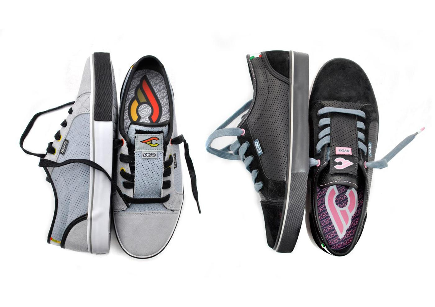 DVS for Cinelli: Luster Sneakers