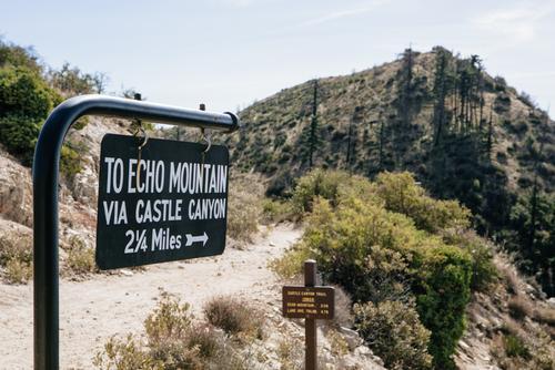 Echo Mountain... pretty sure that's where I got my Poodle Dog Bush rash :-(