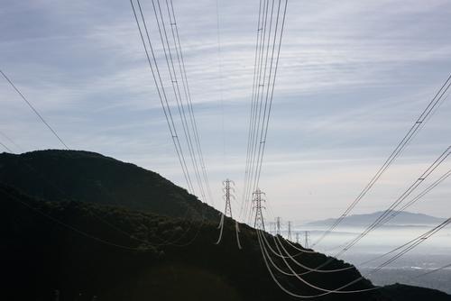 Halfway up Merrill, you're below the powerlines.