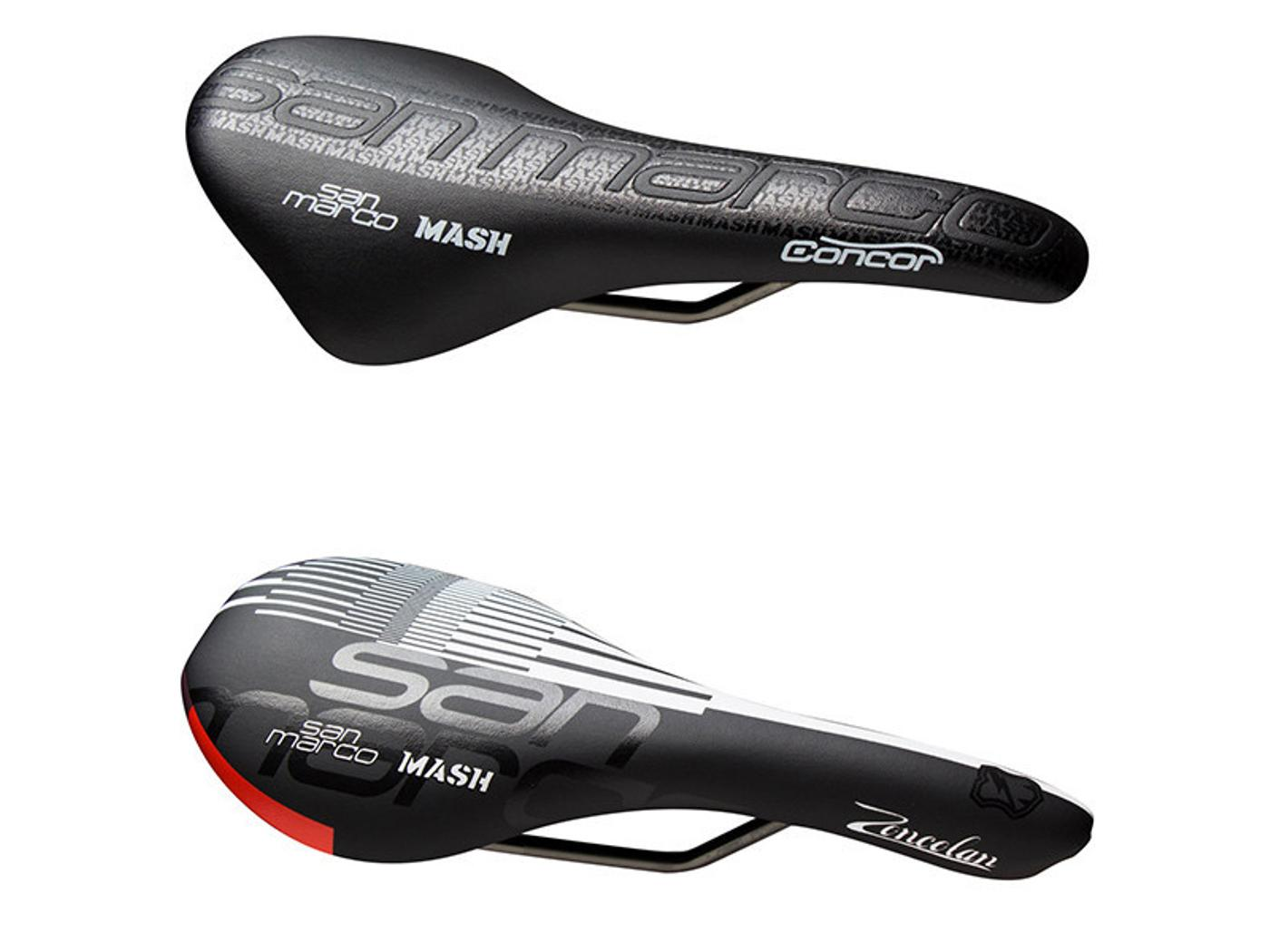 Mash for San Marco: Concor and Zoncolan Saddles