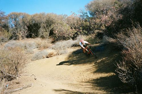 This trail was the best! Berms gliding you down to the bottom valley!