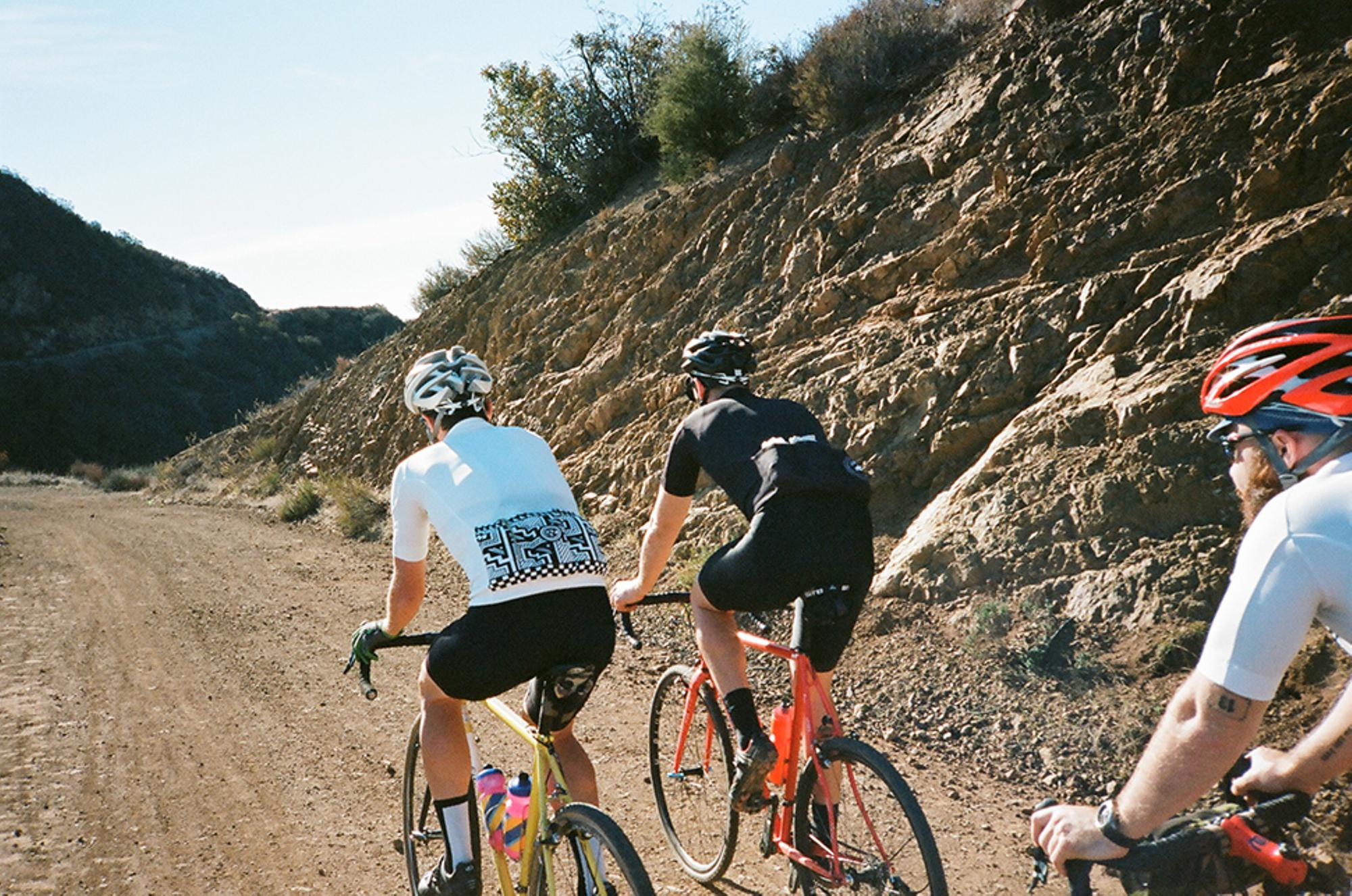 Most of the riding was singletrack, but we did a lot on fireroads.