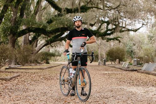 Tim and his Argonaut Disc Road.