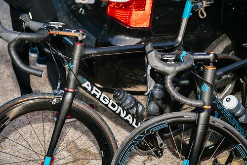 Team Argonaut / River City Bicycles had some special weaponry.