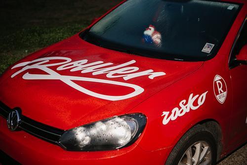 Rouler's race car.