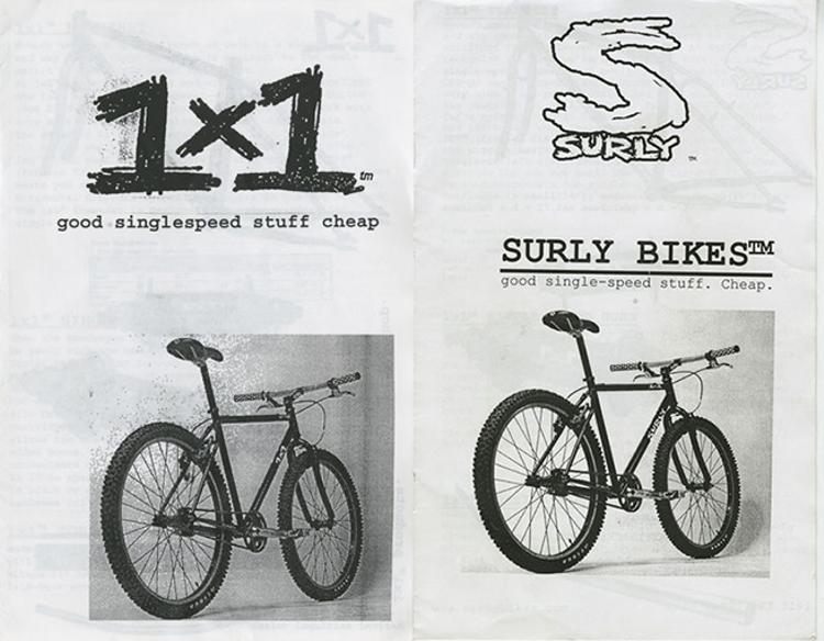 Vintage Surly Catalog Covers