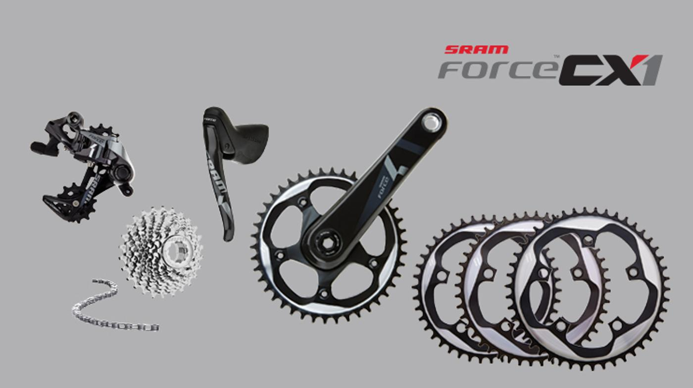 SRAM Launches Force CX1 Cross Group