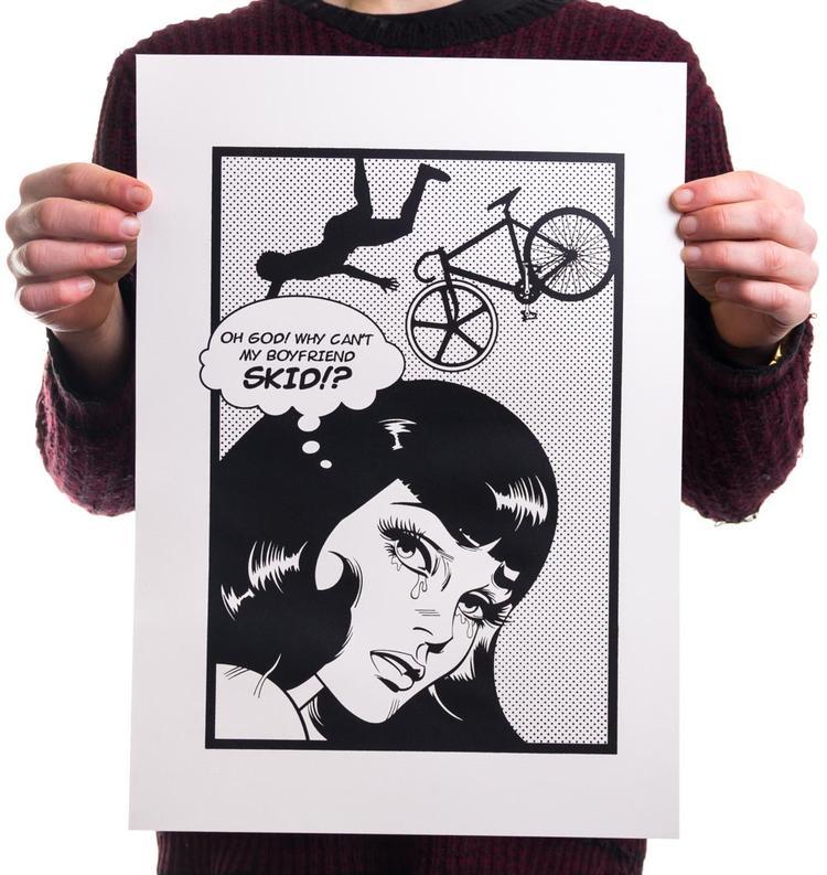 Oh God! Why Can't My Boyfriend Skid!? Prints