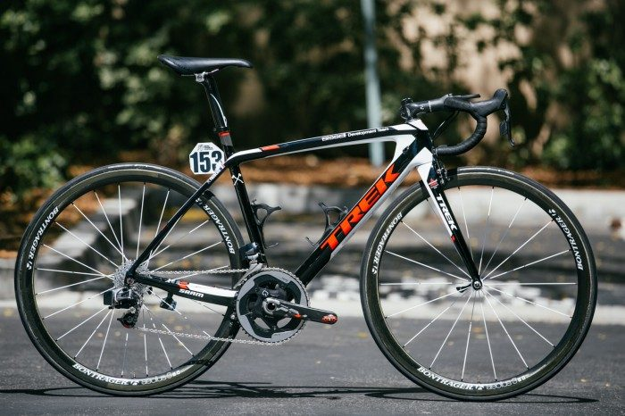 Clement Chevrier's PRO Trek Madone with SRAM Wireless