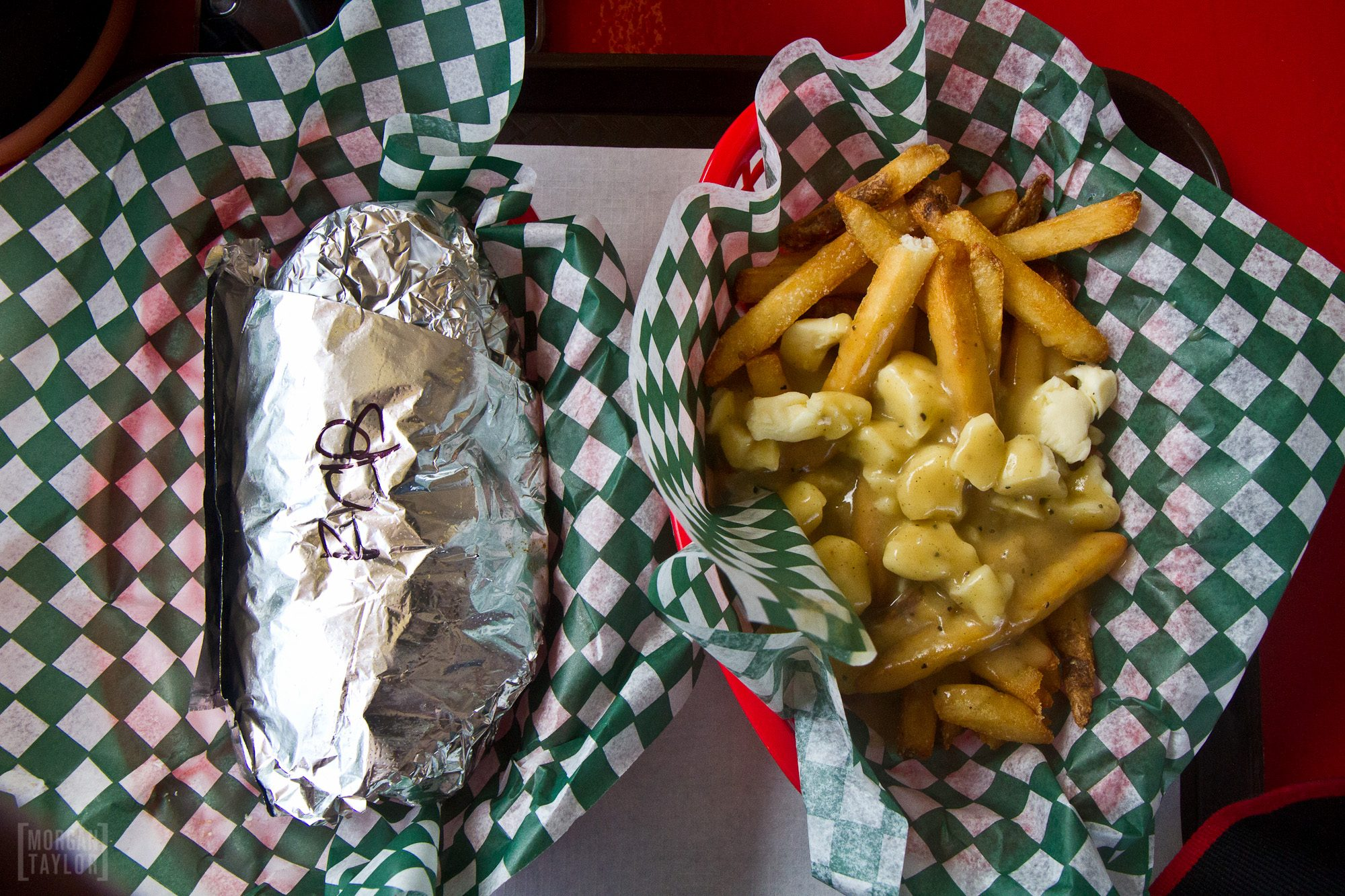 Why yes, I will have the fried chicken poutine with my burrito.