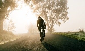 For the next thirty miles, it was a neck-breaking ride. Every glance over your shoulder displayed chasing silhouettes.