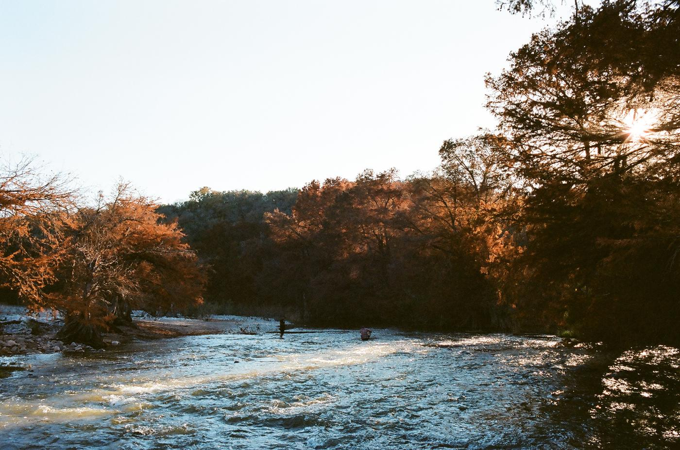The Pedernales River