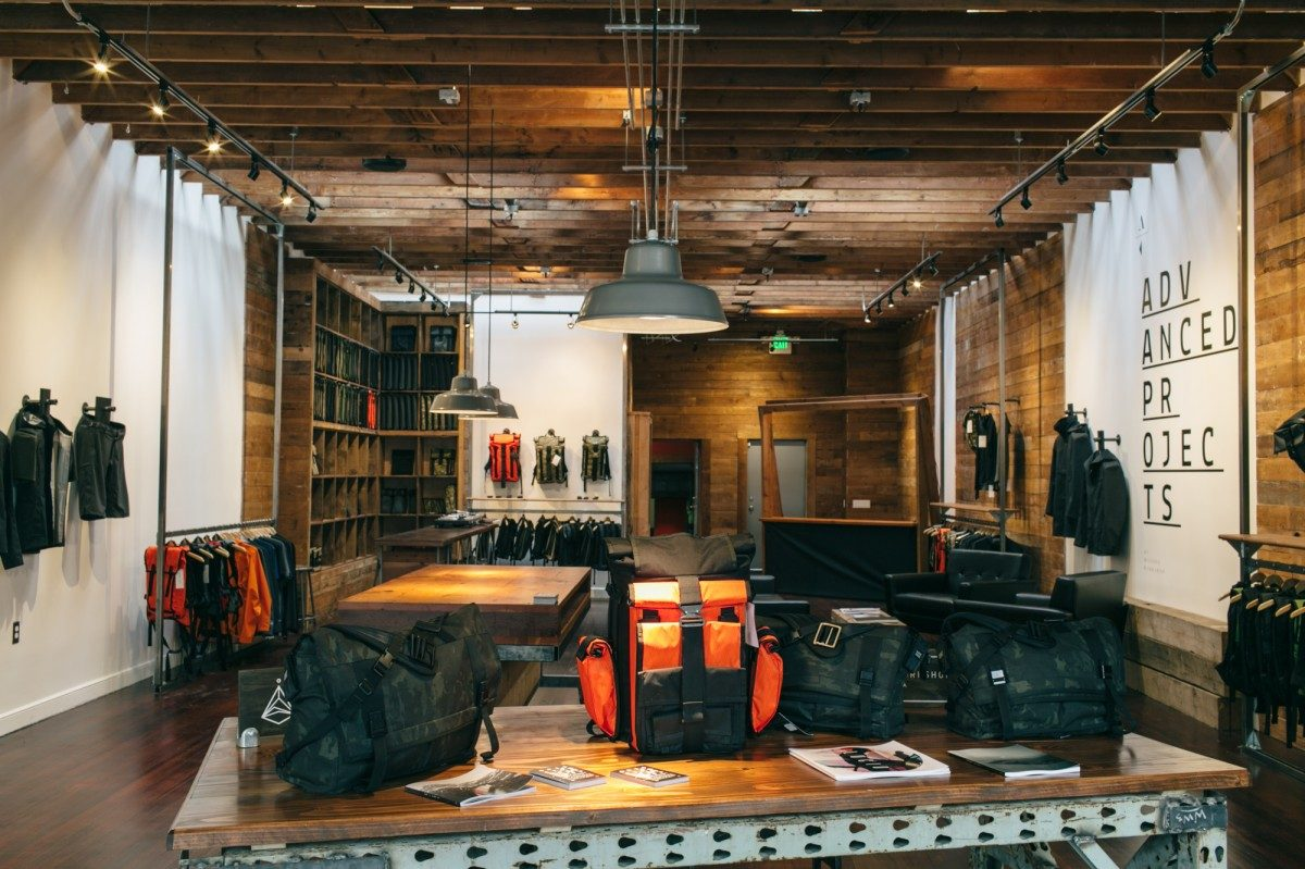 Mission Workshop's New Storefront on Valencia