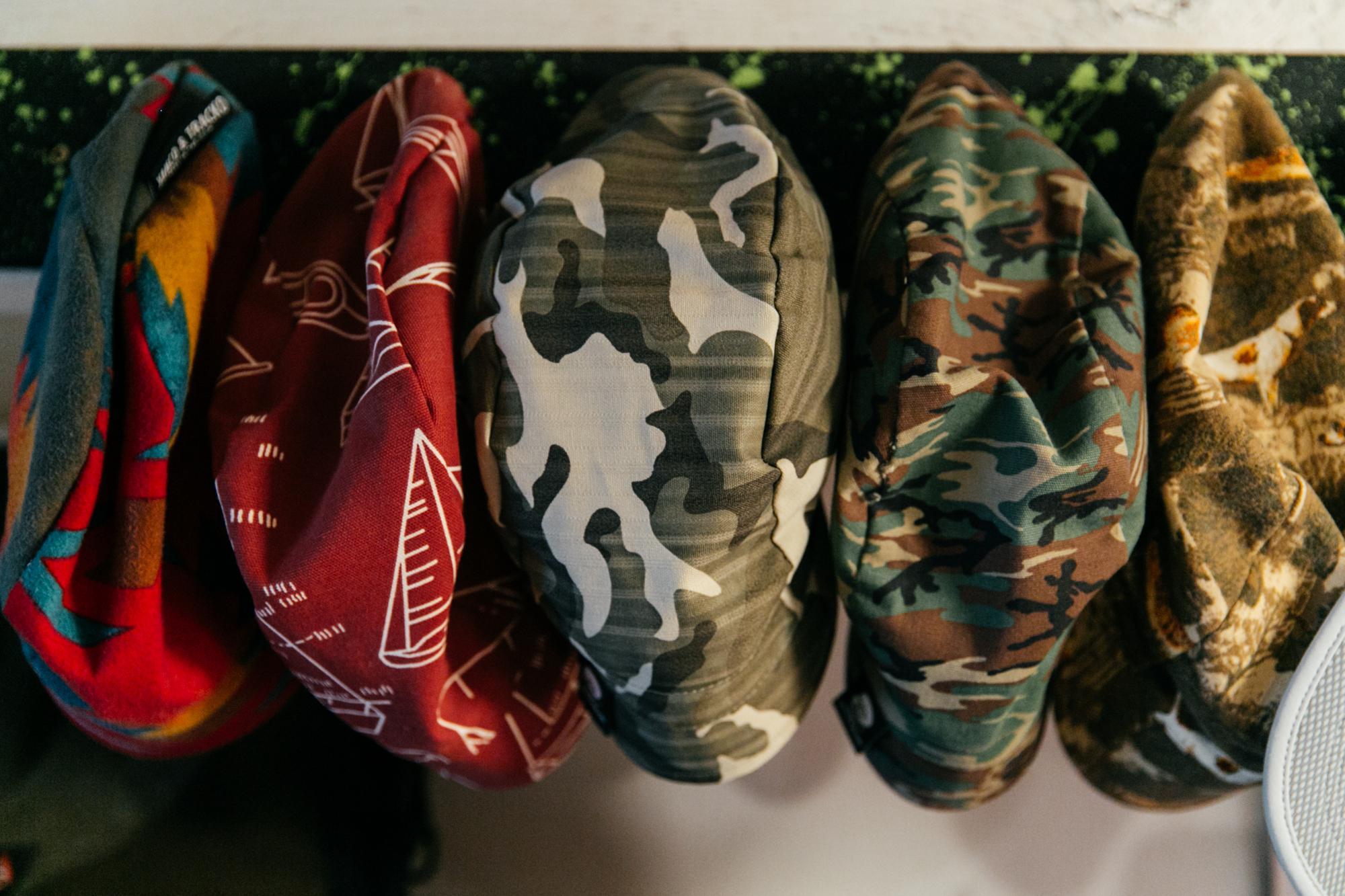 Various caps