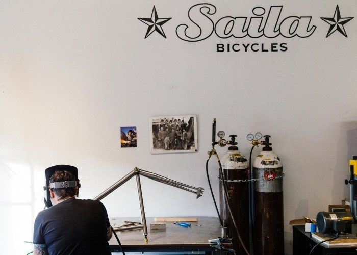 Saila Bikes: Handmade in Austin Titanium Frames
