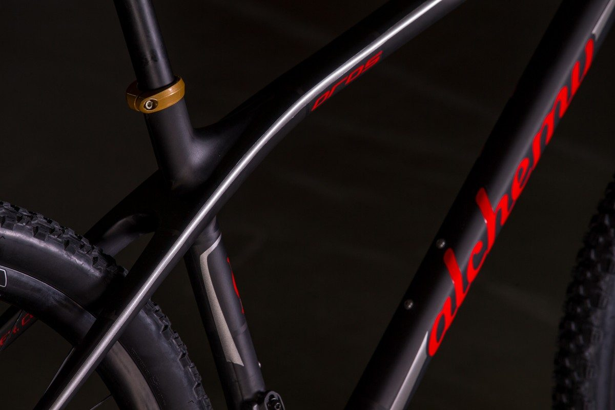 2015 NAHBS: Alchemy Carbon 29'r Hardtail