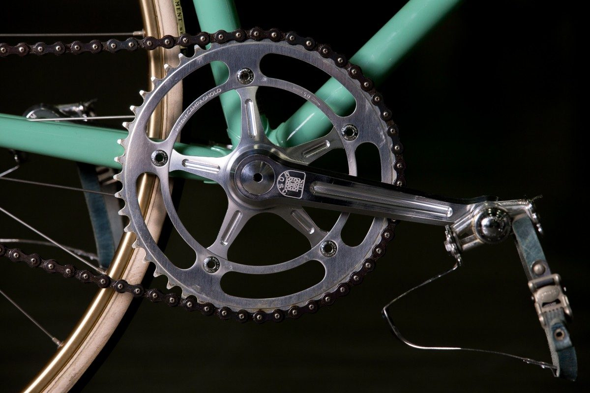 2015 NAHBS:  Enduro Bearings 24mm Outboard Pista Crankset