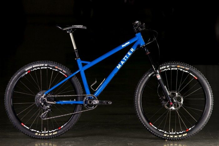 2015 NAHBS: Matter Cycles 27.5 Rowdy Hardtail