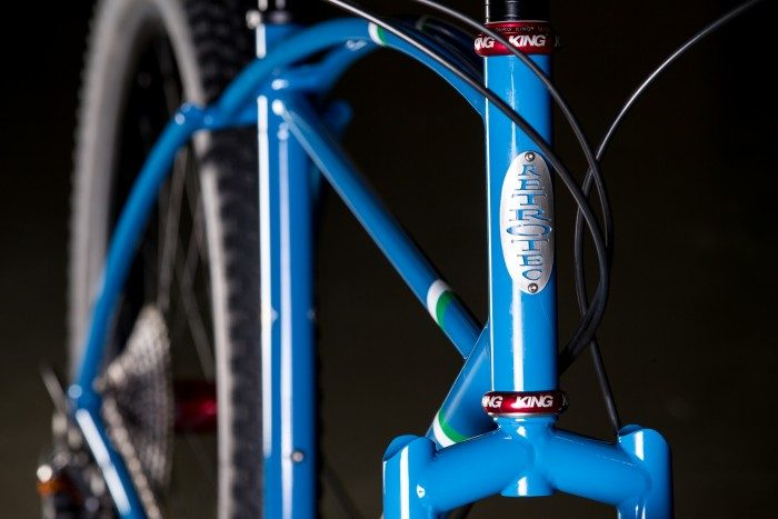 2015 NAHBS: Retrotec 29+ Rigid MTB