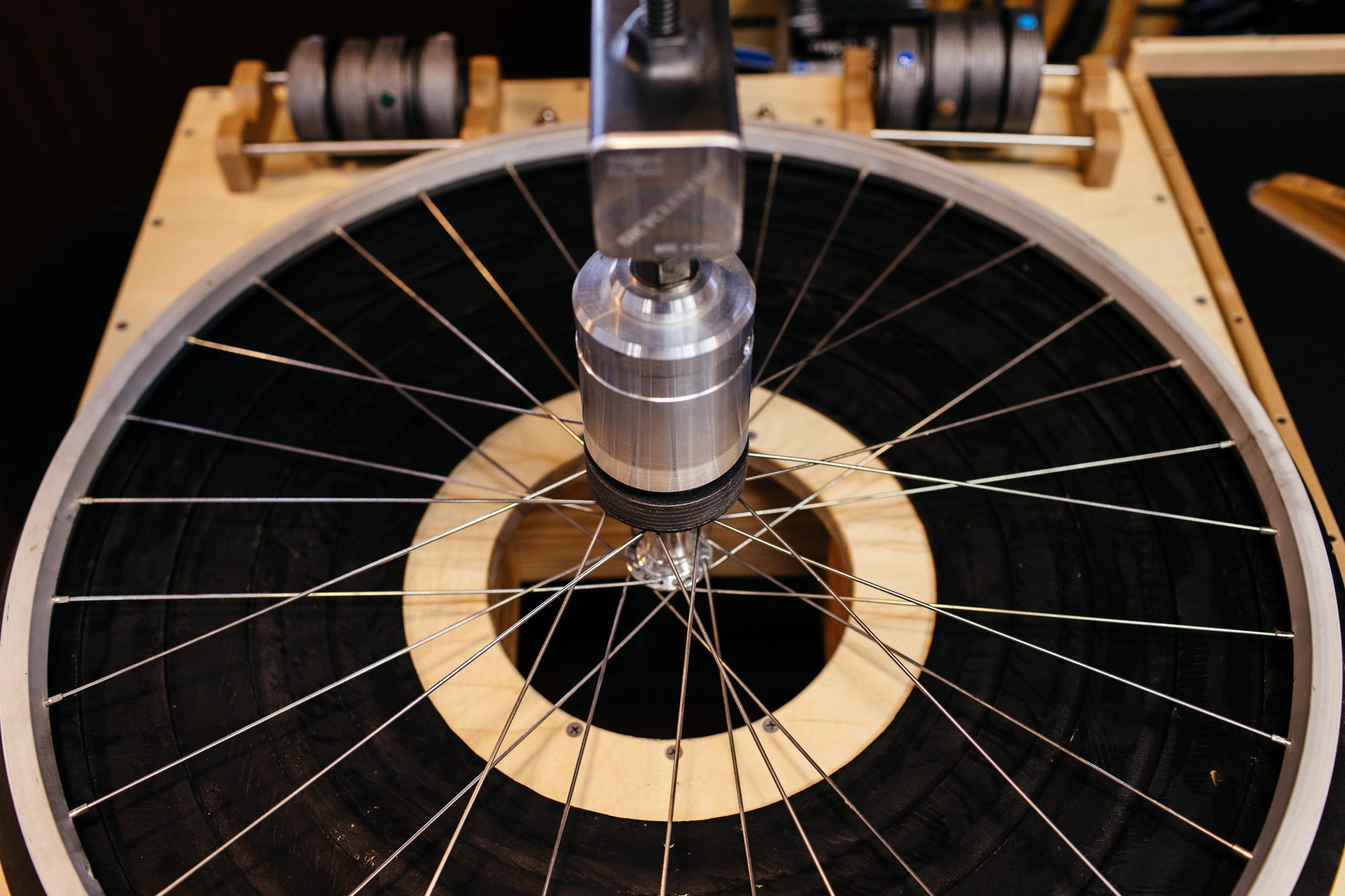 BicycleStarz Wheel Building Table and Tools