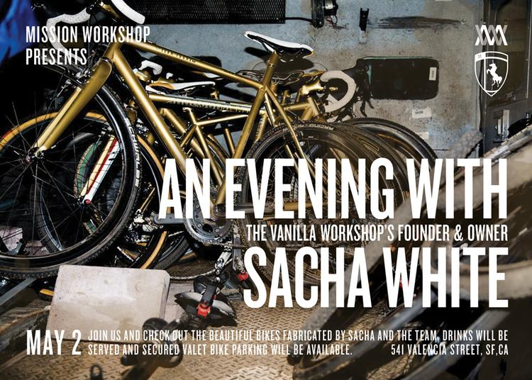 Speedvagen Party at Mission Workshop this Saturday