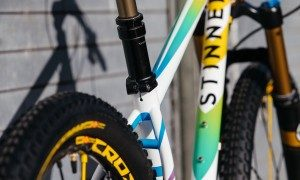 Chad's 27.5 Team Dream Designed Mavic Crossmax Stinner Hardtail MTB