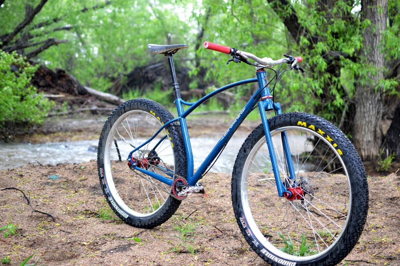 Sklar Bikes: 29+ Rigid SS MTB