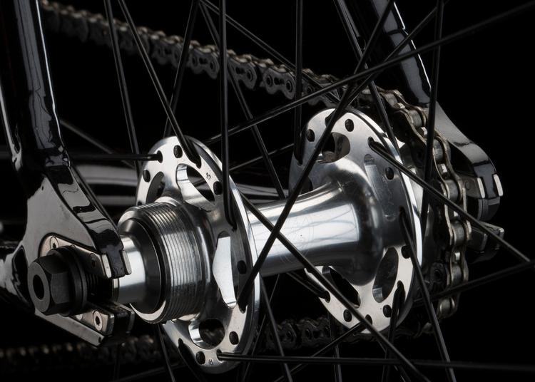 All-City Cycles: New Sheriff SL Track Hubs