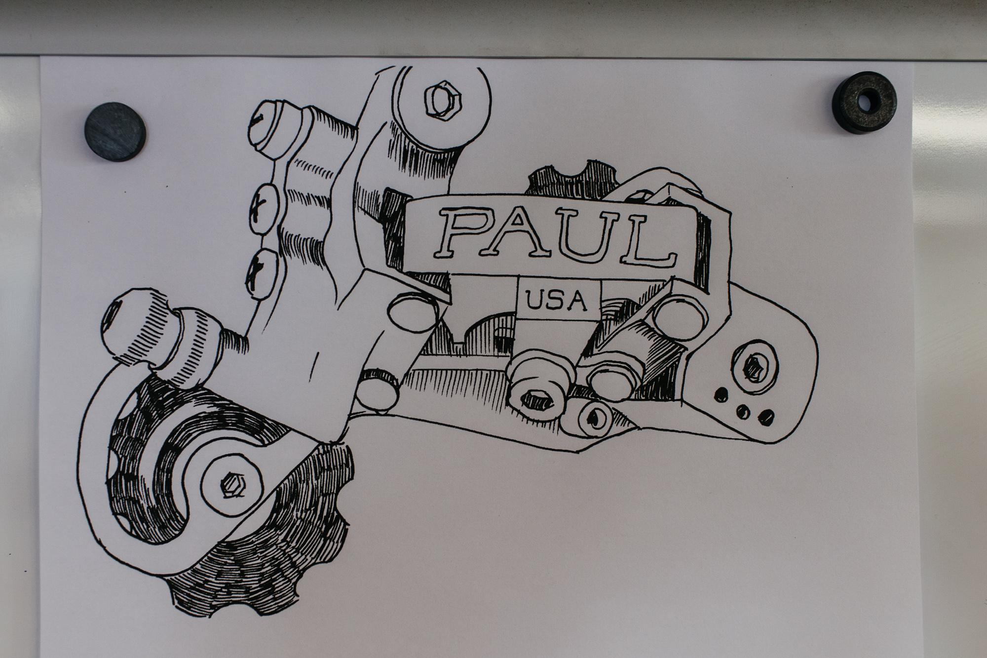 Matt's derailleur drawing