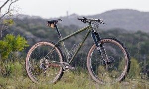 The Black Cat Bicycles Operation Thunder Monkey 29r MTB