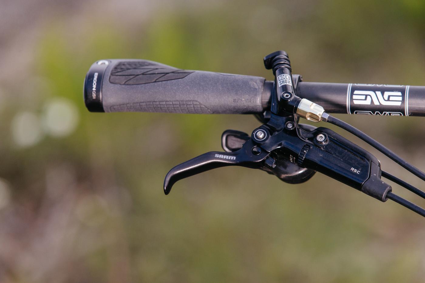 The Black Cat Bicycles Operation Thunder Monkey 29r MTB