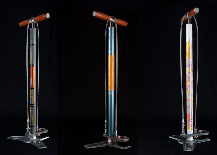 Silca Introduces Dario Pegoretti Artist Edition Super Pista Ultimate Pumps
