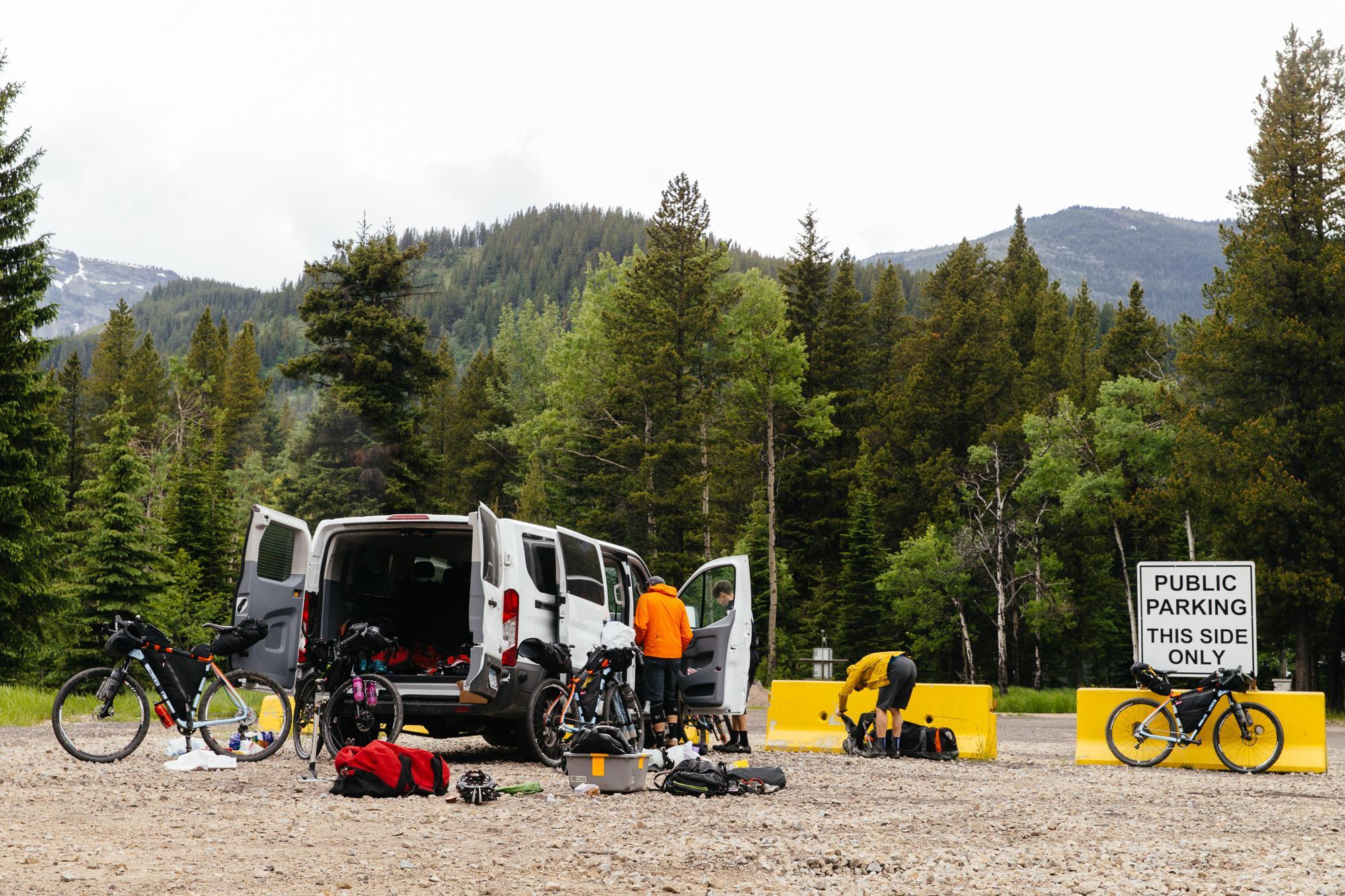 Van and bike explosion