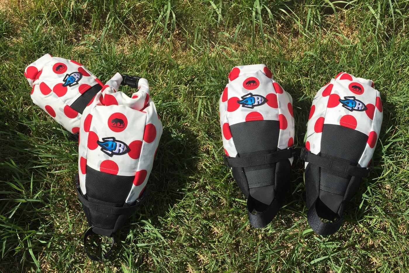 SOLD OUT:  Porcelain Rocket and the Radavist MultiKOM Charlene Seat Packs