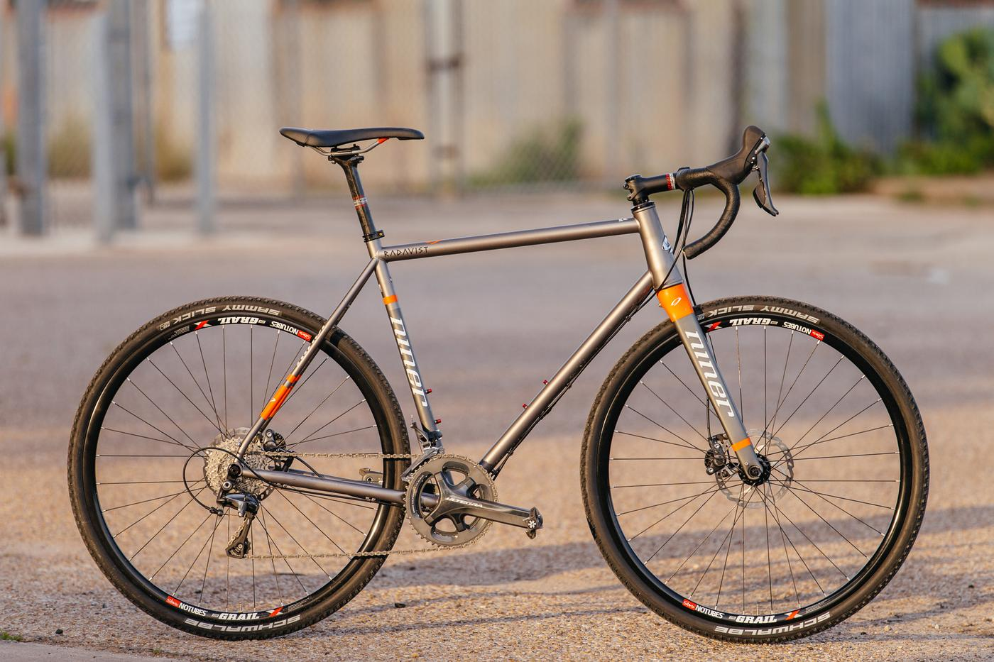 Niner's RLT 9 Steel Disc Cross Bike with Ultegra Hydro