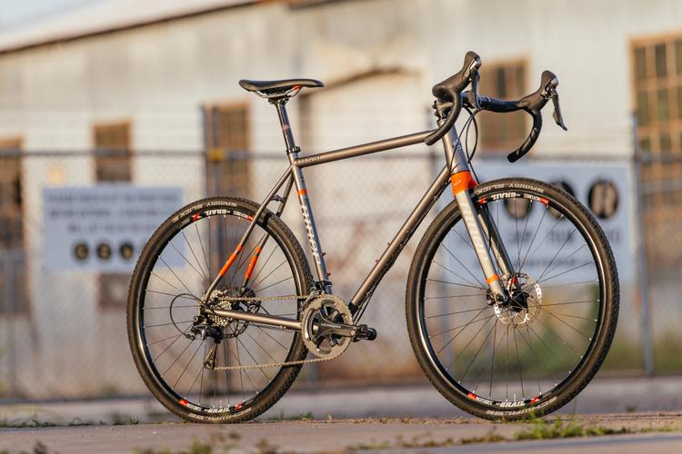 Versatility and Niner's RLT 9 Steel Disc Cross Bike with Ultegra Hydro