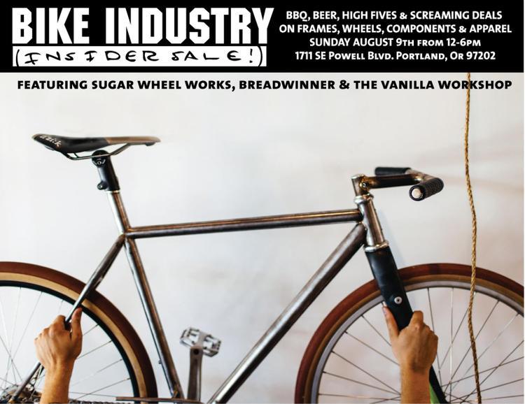 The Bike Industry Insider Sale in Portland