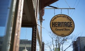 Free Coffee at Heritage General Store
